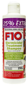 F10 Germicidal Treatment Shampoo - 250ml