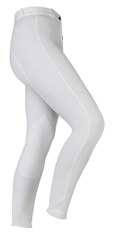 Ladies Wessex Breeches - White
