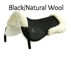 Air-Teque Shockproof Wool Saddle Pad - Half Pad