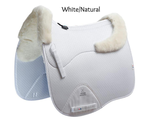 Air-Teque Shockproof Wool European Saddle Pad - Dressage Square