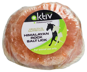 Aktiv Equine Himalayan Salt Lick On Rope - 1 Kg