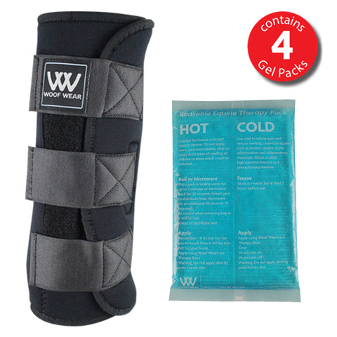 Ice Therapy Boots with Gel Packs