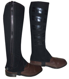 Chaps In Nubuck With Sillicone Patch
