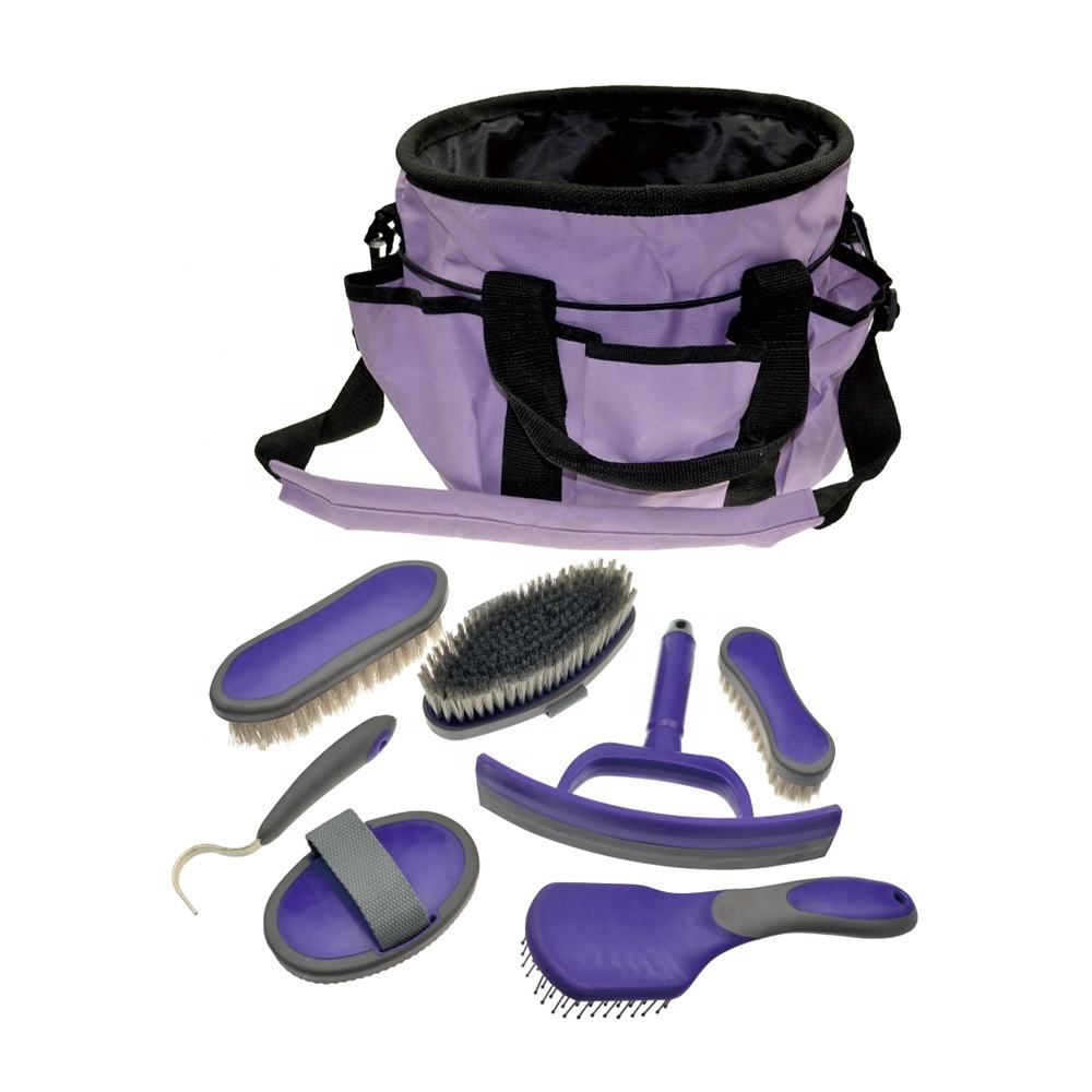 Grooming Bag with 6 Items