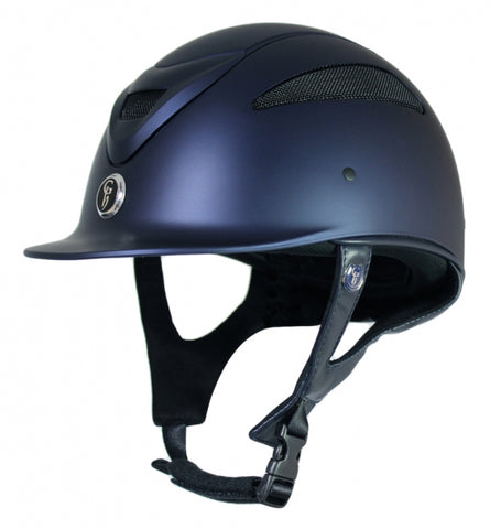 Conquest MKII Riding Hat - Matt (Size 56cm Navy Only)