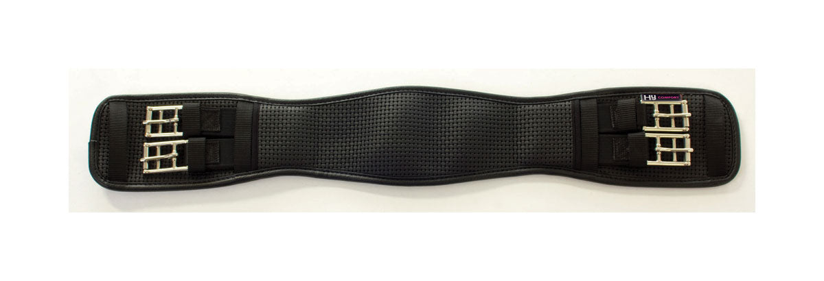 HyCOMFORT Waffle Dressage Girth - Elasticated Both Ends