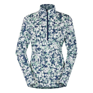 Ice Fil Lite Long Sleeve Riding Shirt - Print
