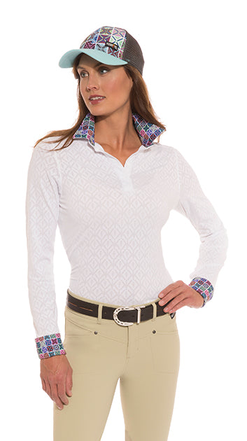Kerrits Tailored Stretch Show Shirt