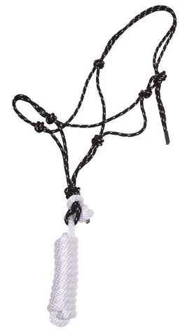 Knotted Rope Halter with Lead