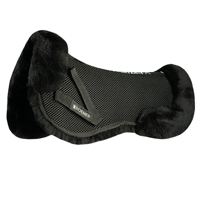 Roemer Genuine Sherpa Rolled 3D Spacer Saddle Pad