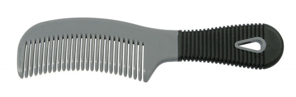 Plastic Mane Comb with Handle