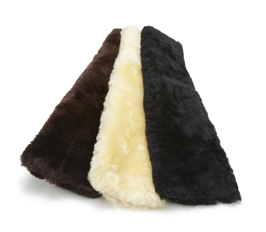 Sheepskin Noseband Covers