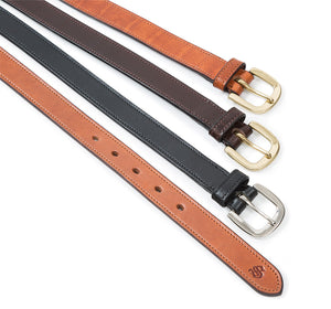 Ascot Leather Belt