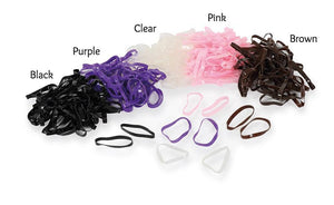 Ezi-GROOM Silicone Plaiting Bands