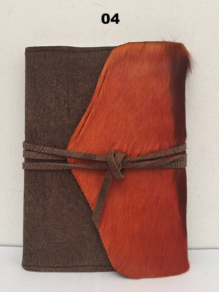 Leather Covered Book - A5