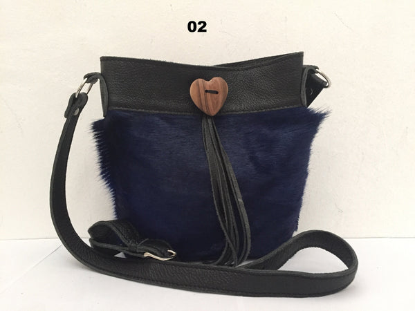 Loona Bag With Heart Tassel Deco