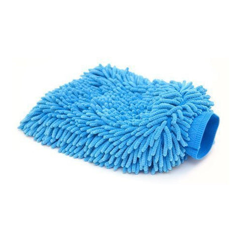Grooming Dust Glove Blue