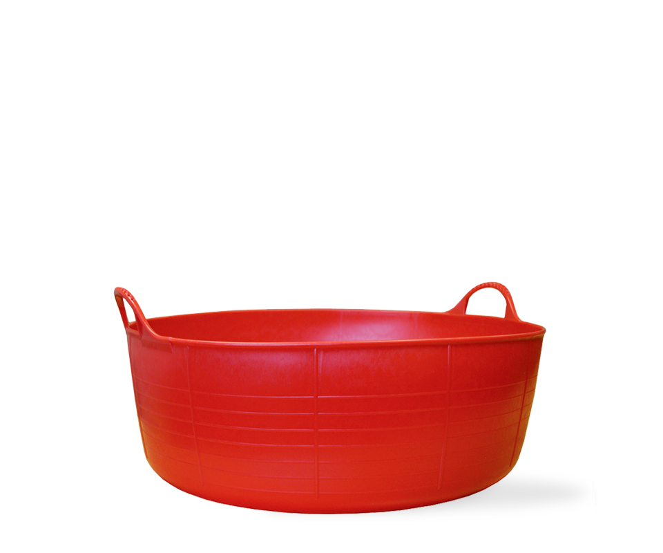 Red Gorilla Tubtrug Flexible - Small Shallow 15L