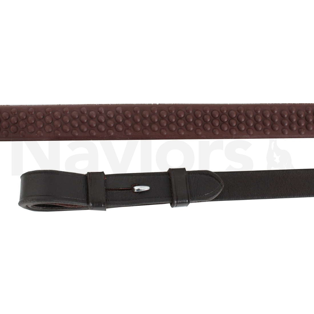 Aviemore Soft Rubber Grip Reins - 61''- Full