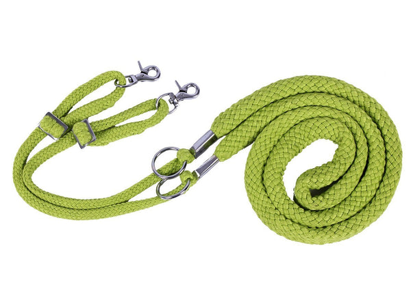 Soft Cotton Lunging Rope - Snake