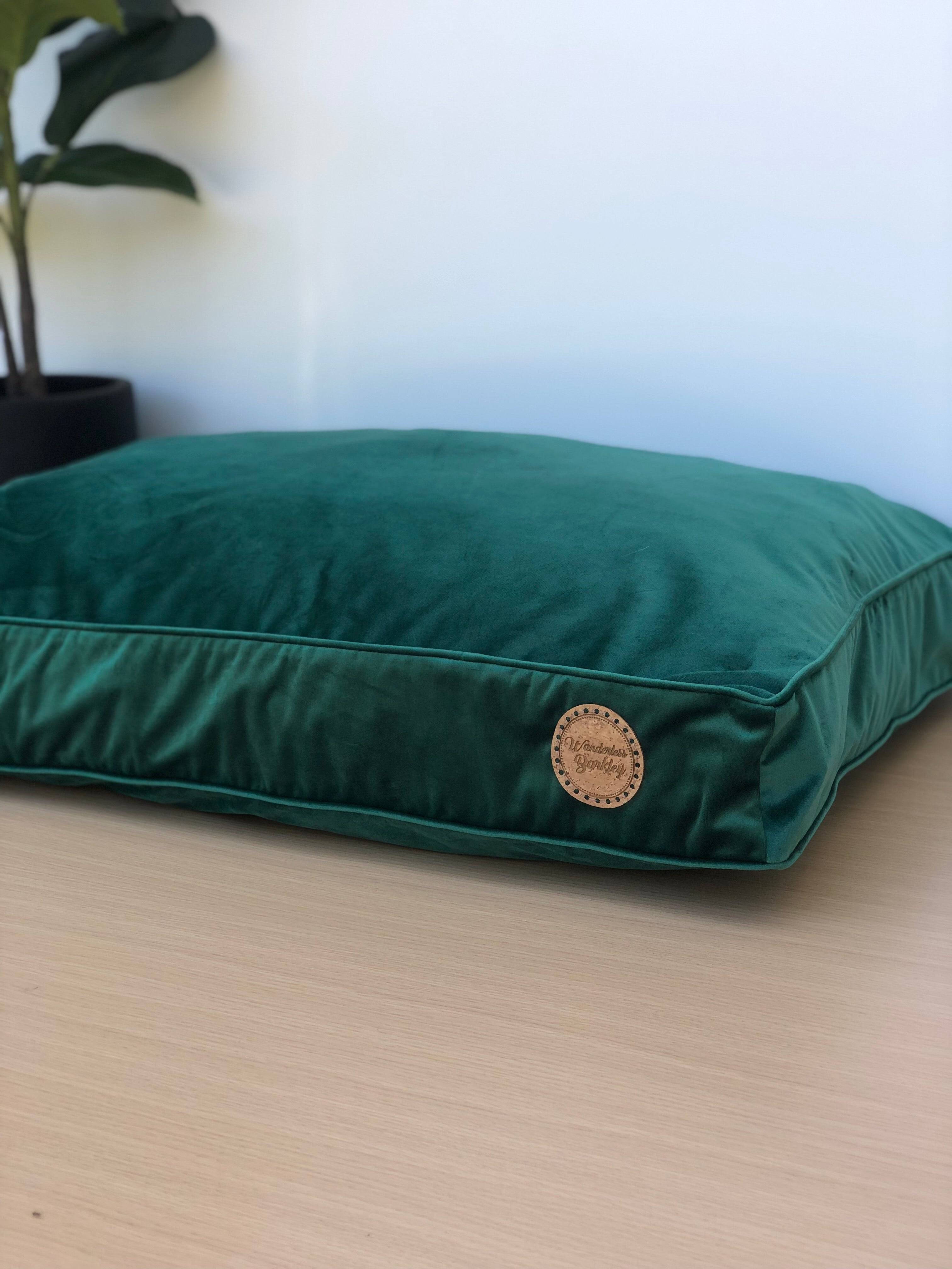 Evergreen - Velvet Spread Dog Bed (Cover Only)