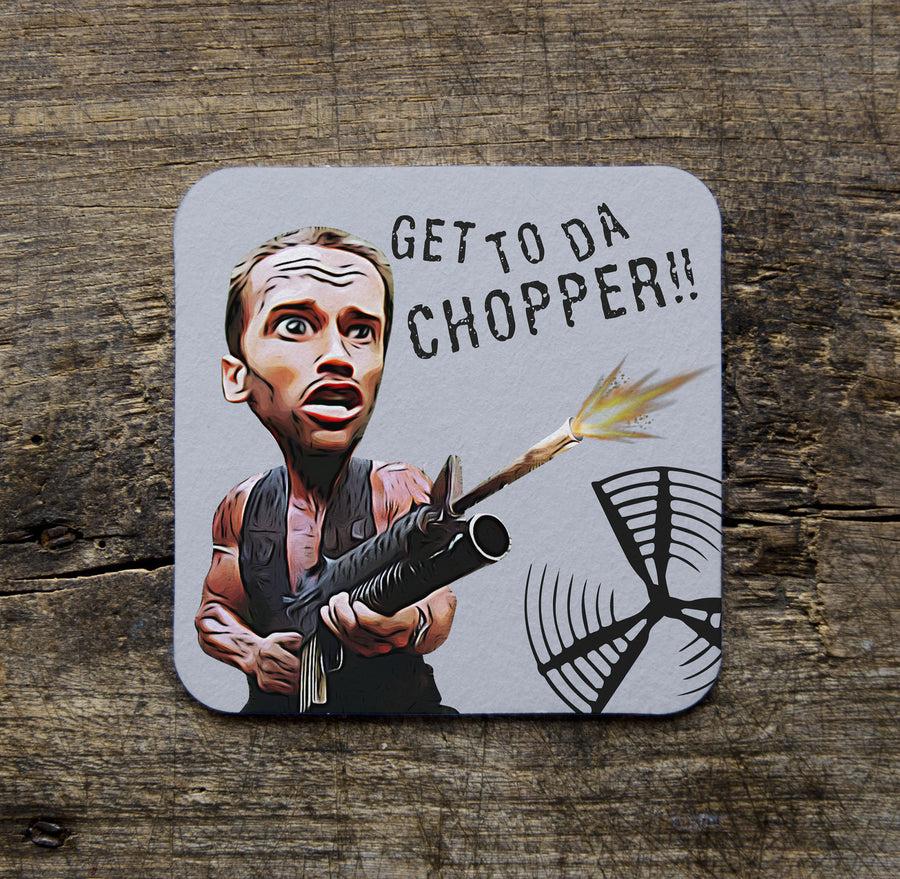 GET TO THE CHOPPER COASTER
