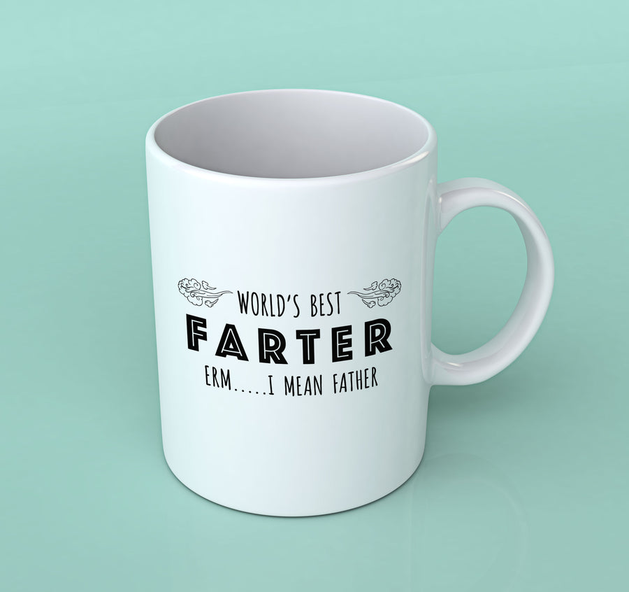 WORLD'S BEST FARTER MUG