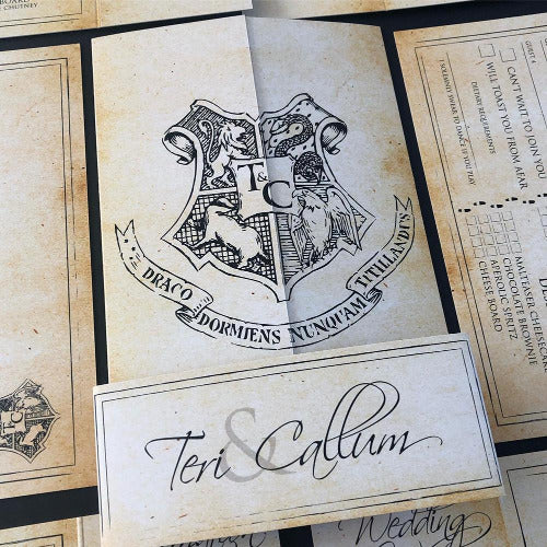 Harry Potter Wedding Invitation