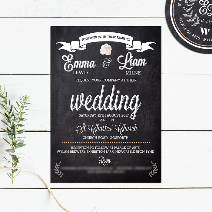 Wedding Invitations – Above The Clouds UK