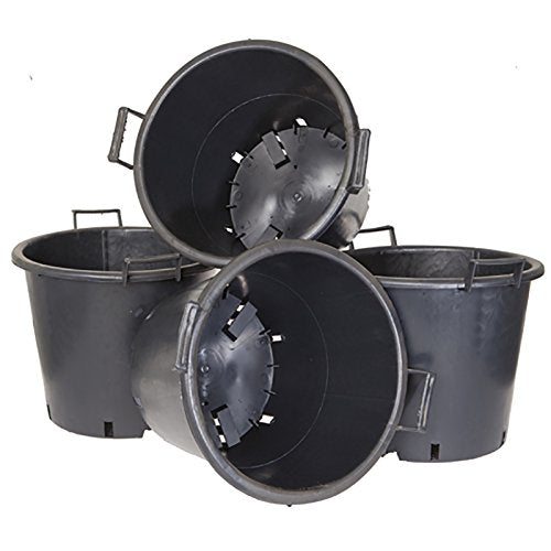Pack of 4 Heavy Duty 30L Pots with Handles