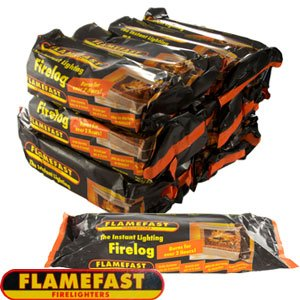 Flamefast Instant-Light Smokeless Fire Log
