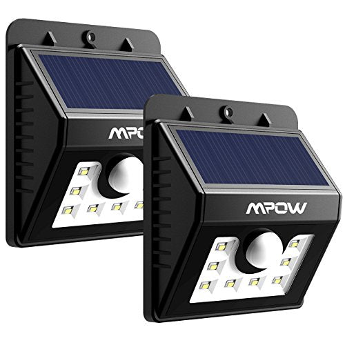 Solar Security Motion Sensor Lights