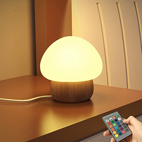NNIUK Baby LED Mushroom Night Lamp