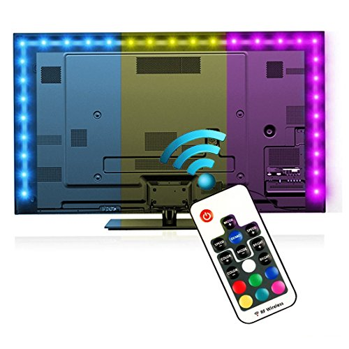 Bias Lighting for HDTV with Remote Control