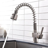 Heselian Stainless Steel Kitchen Tap