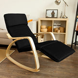 SoBuy Comfortable Rocking Chair with Footrest