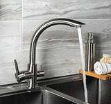 Luxury Stainless Steel Mono Swivel Mixer Tap