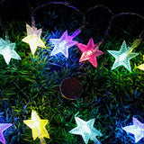 SHHE Star Battery Fairy String LED Lights