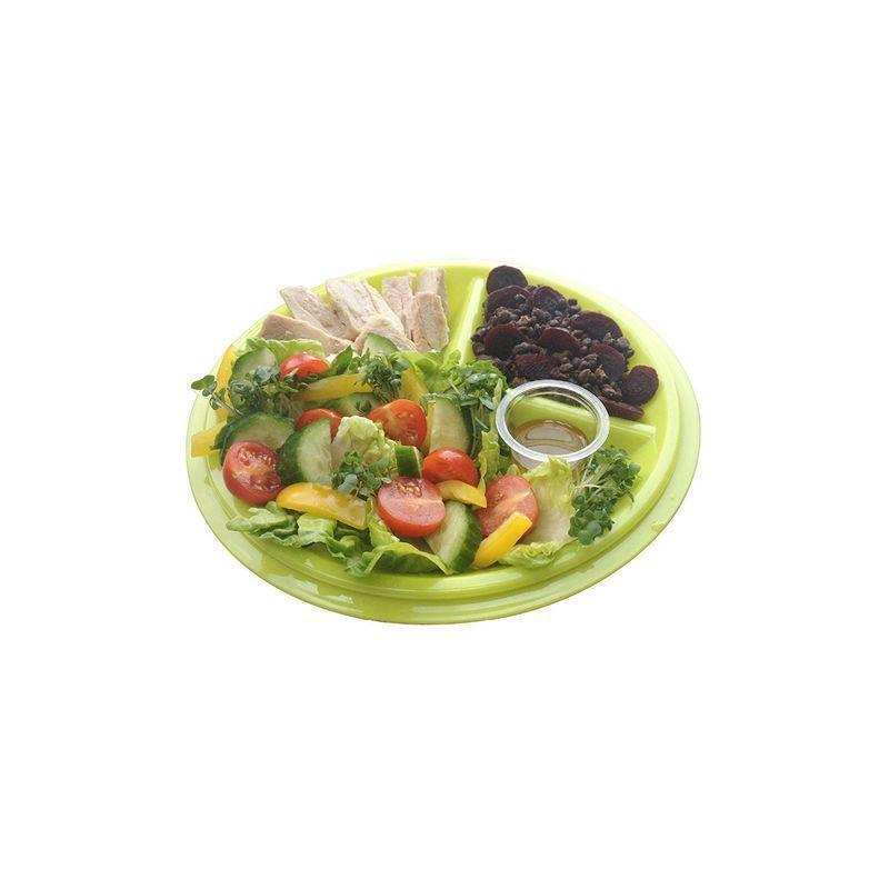 Reusable  Meal Portion Control Plate With Lid