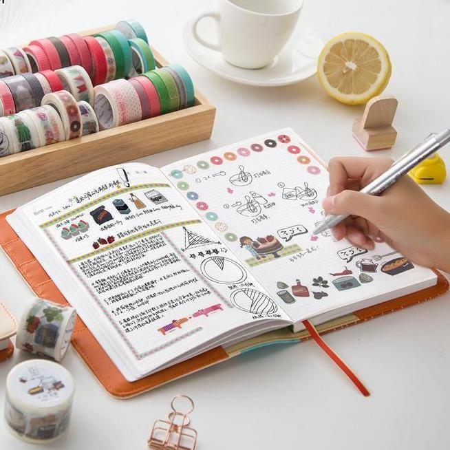 DIY Cooking Planner Notebook