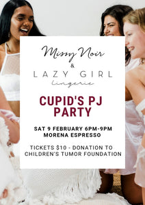 Valentine's Event - Cupid's PJ Party