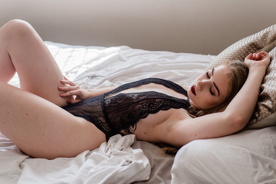 How to wear lingerie for the first time.