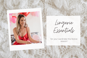 Lingerie Essentials for the Festive Season