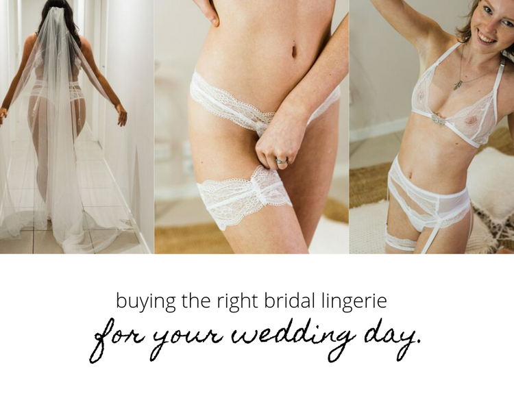 Buying The Right Bridal Lingerie for Your Wedding Day.