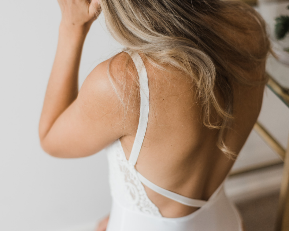white lace bridal lingerie bodysuit