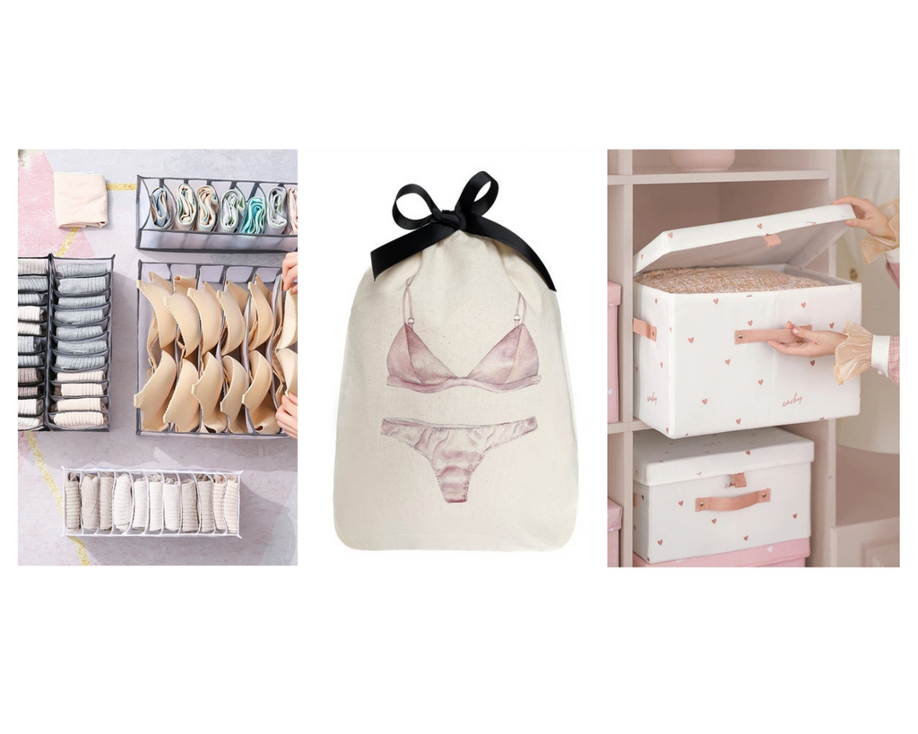simple ways to organise your lingerie