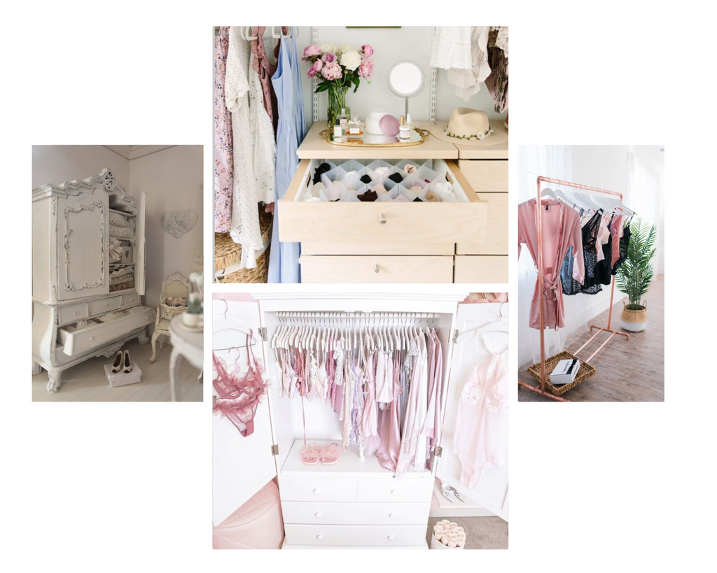 Unique ways to organise your closet and wardrobe