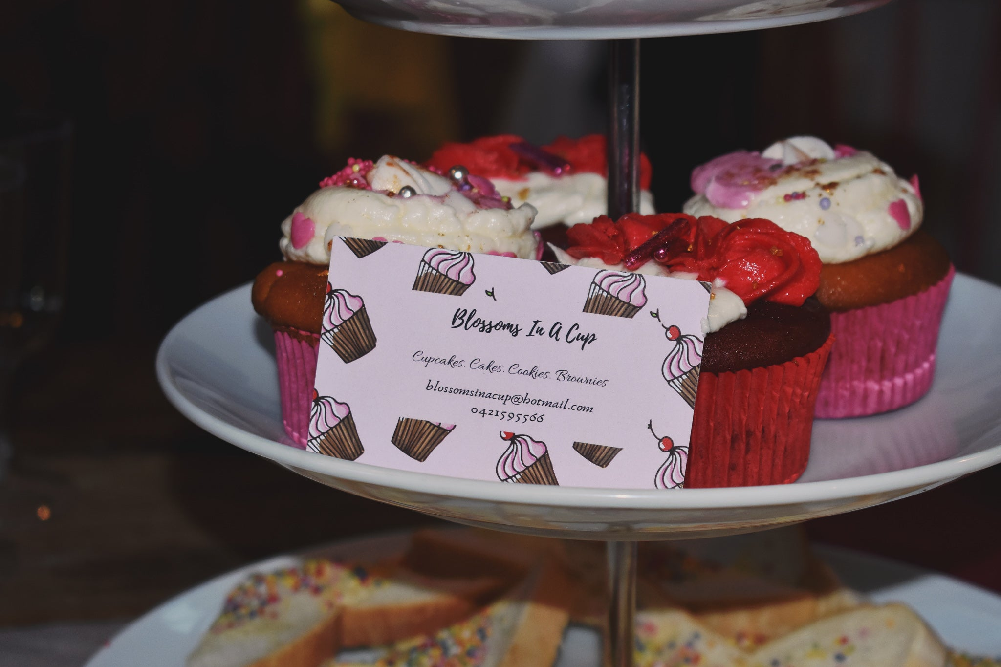 valentine's day cupcakes by lazy girl lingerie