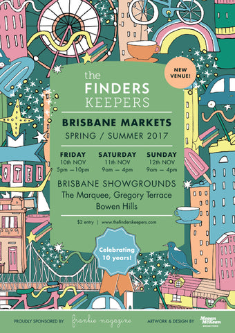Finders Keepers premium handmade markets in brisbane australia