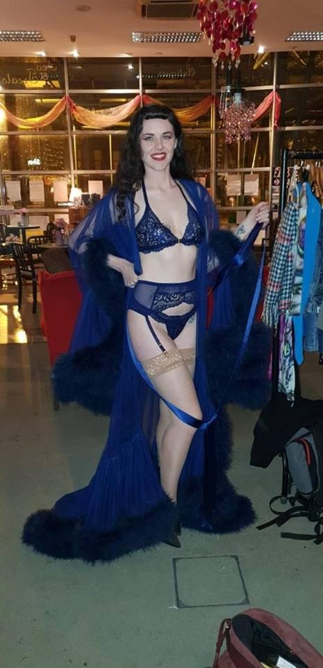 burlesque lingerie costume by lazy girl lingerie